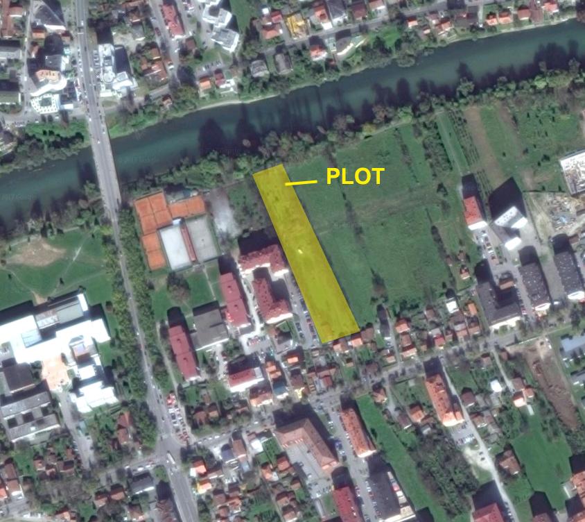 BANJA LUKA zemljište, Google earth